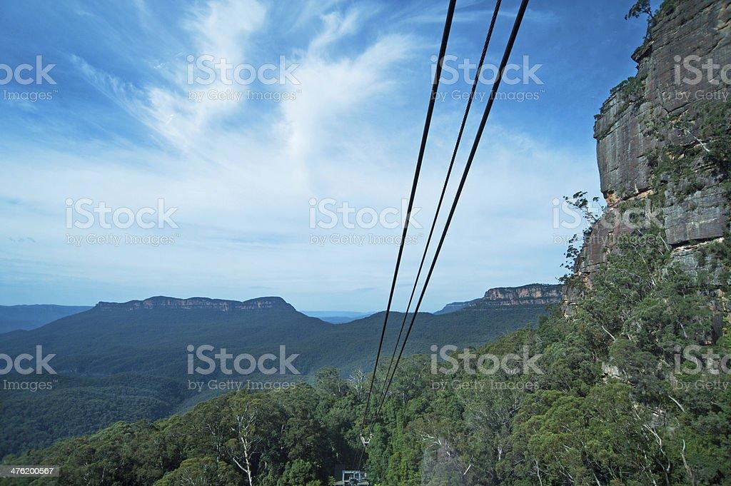 Blue Mountains National Park, Australia royalty-free stock photo