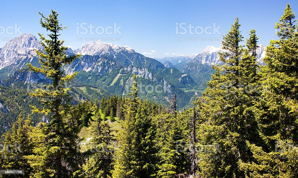 blue mountains stock photo