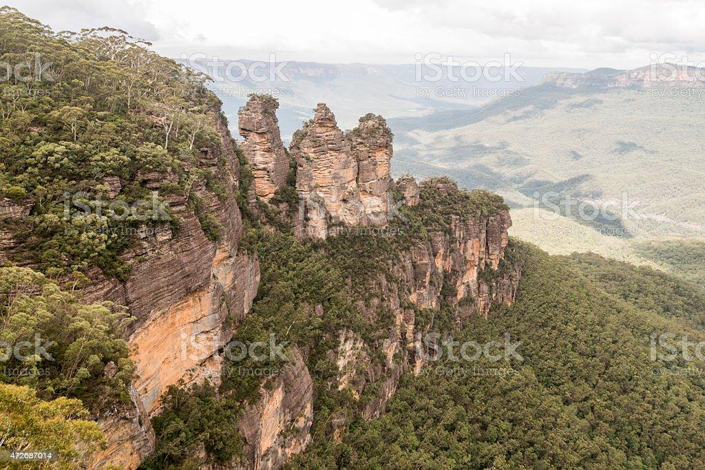 Blue Mountains - Three Sisters stock photo