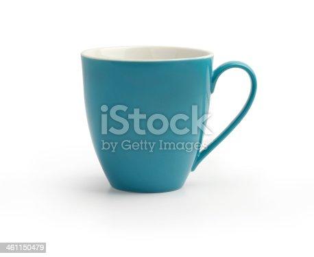 istock blue mug isolated on white background 461150479