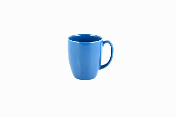 Blue Mug stock photo