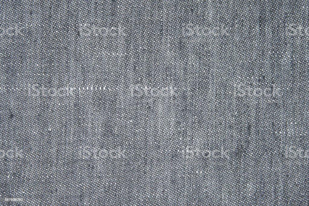 Blue napkin on white background stock photo