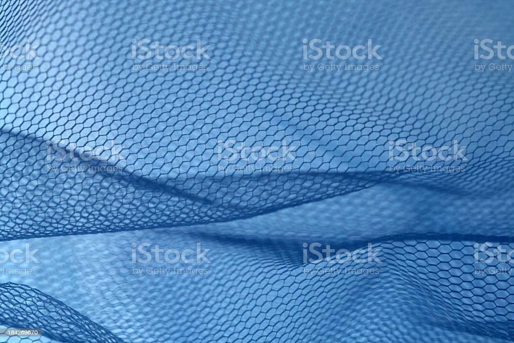 blue net royalty-free stock photo