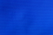 Blue nylon fabric texture