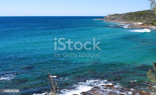 593328060 istock photo Blue ocean bay 146839256