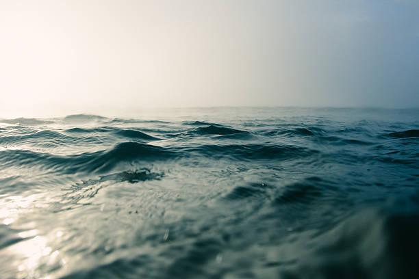 Mar azul macro - foto de stock