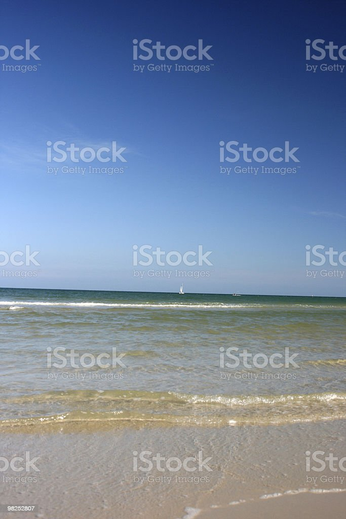 Blue Ocean royalty-free stock photo