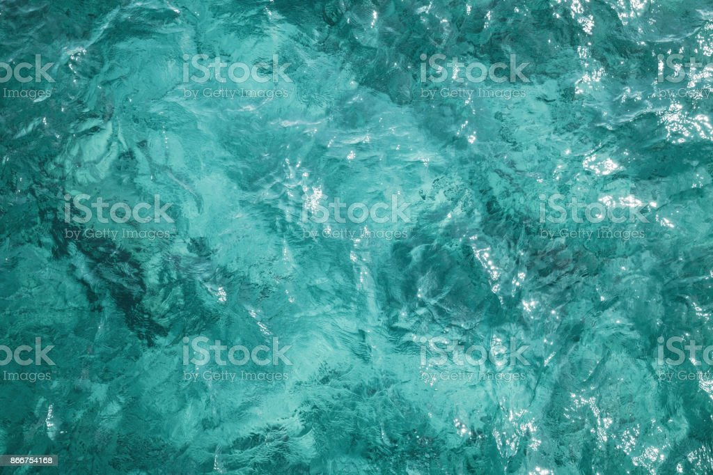 Blue ocean water surface, background photo stock photo