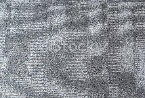 istock Blue office carpet pattern interior 1155675421