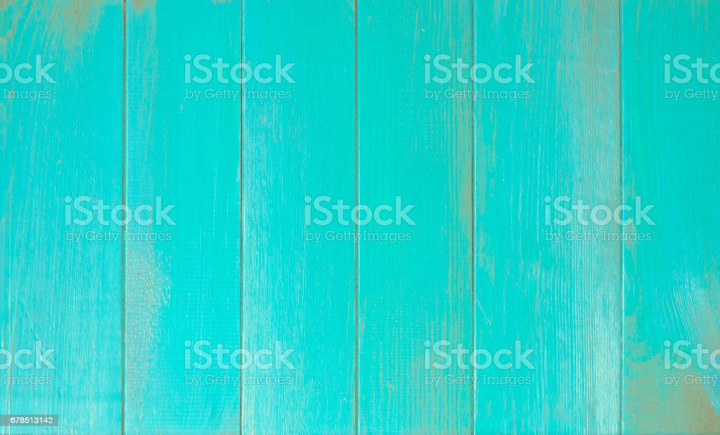 blue old wooden fence stock photo