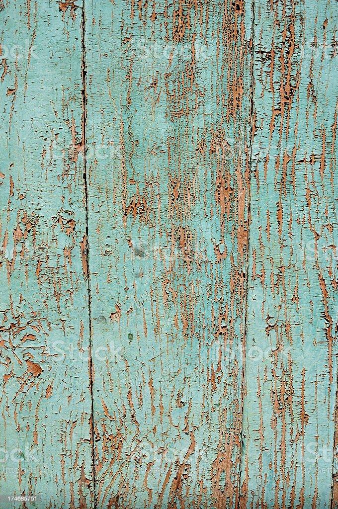 Blue orange peeling royalty-free stock photo