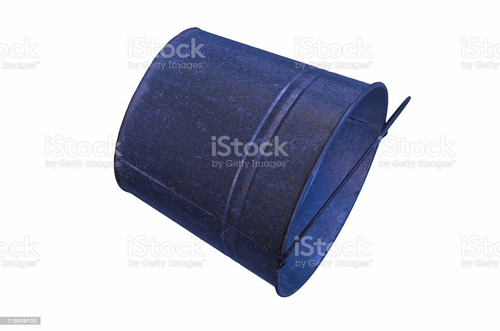 Blue Pail royalty-free stock photo