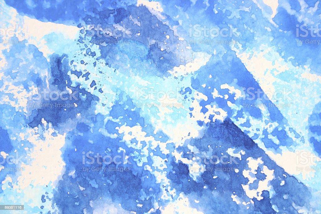 Blaue Farbe (Serie Lizenzfreies stock-foto