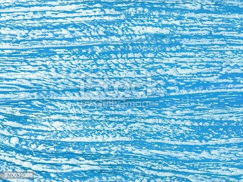 Blue paint rustic wood backgrounds