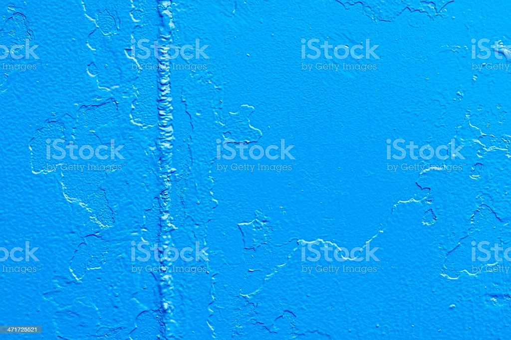 Blue Paint Texture royalty-free stock photo