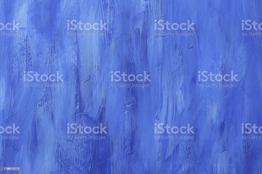 Blue Painted Bacground royalty-free stock photo