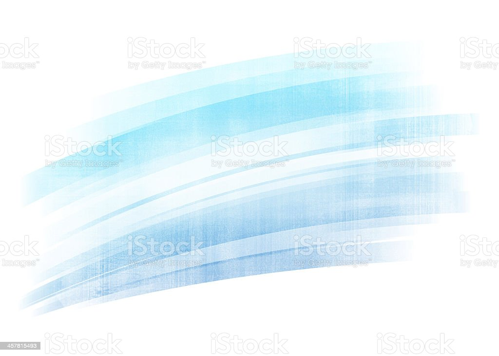 Blue painted brush stroke background stock photo