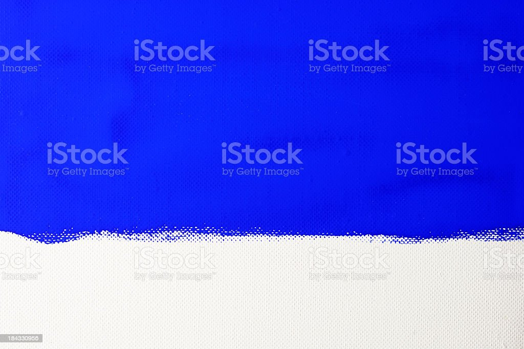 Blue painted on canvas texture background royalty-free stock photo