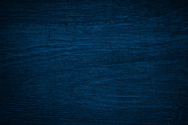 Blue painted wood texture background stock photo