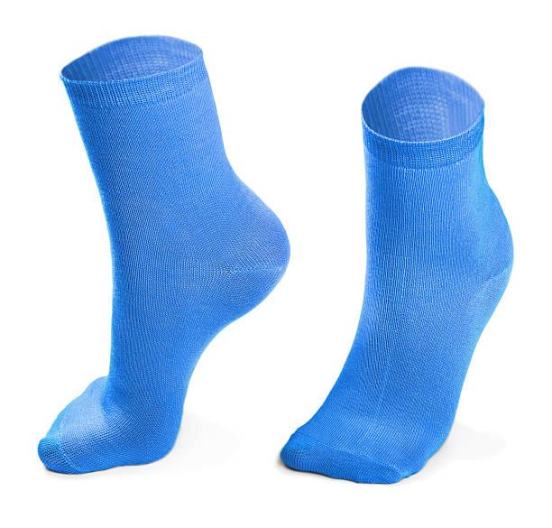 blue pair of socks – Foto