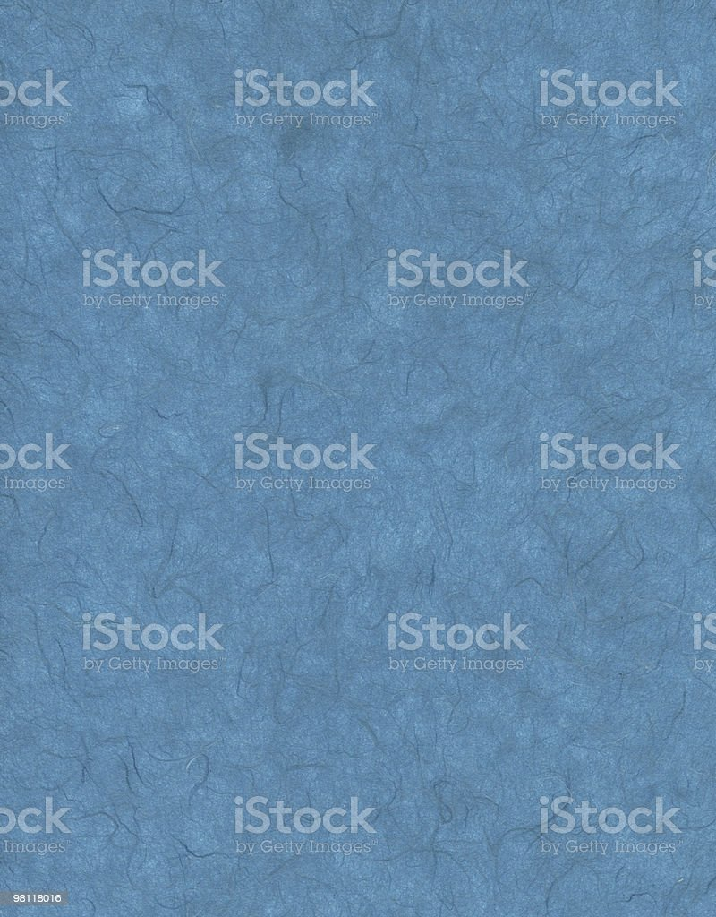 Blue Paper Fiber Texture royalty-free stock photo