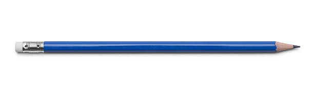 blue pencil - pencil stock pictures, royalty-free photos & images