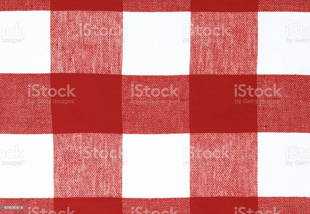 Blue picnic cloth textile background. stock photo