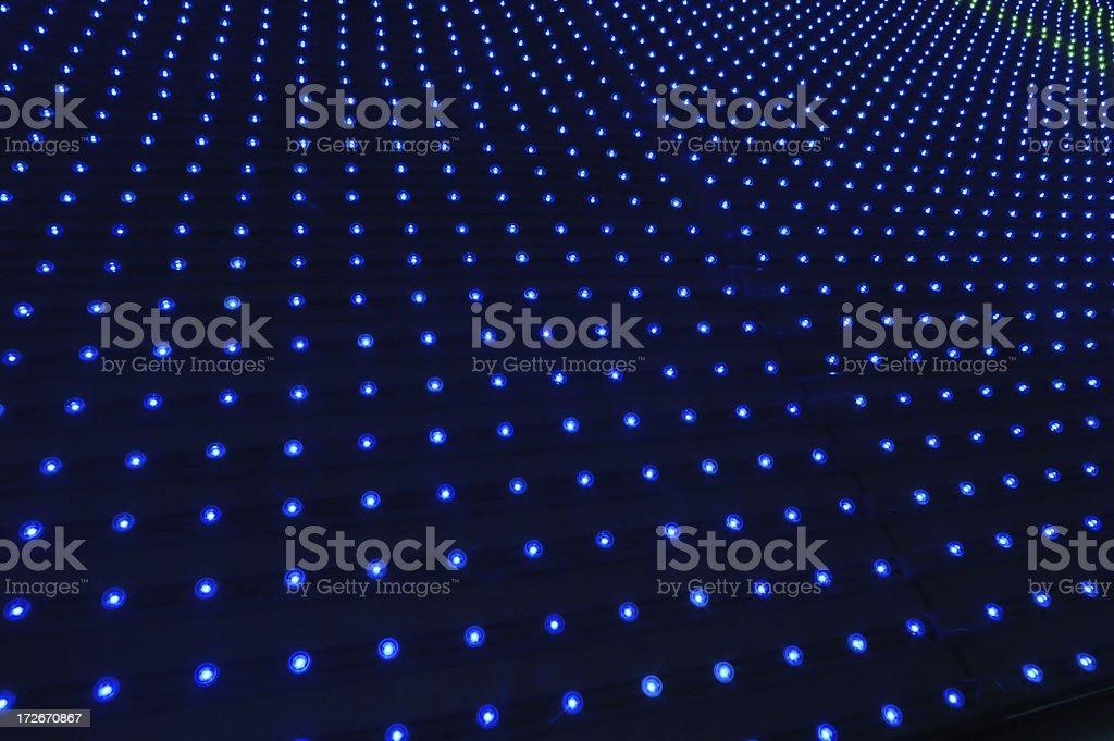 blue pin lights royalty-free stock photo