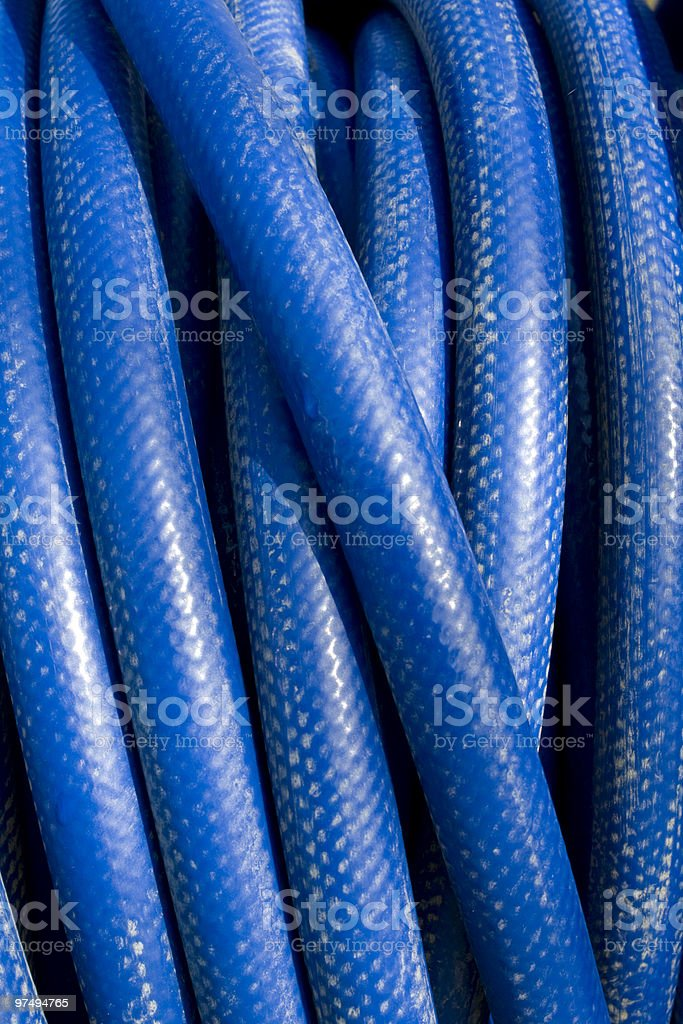 Blue piping royalty-free stock photo