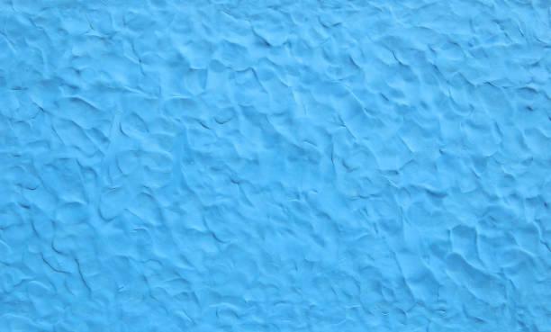 niebieskie tło tekstury plasteliny. - glina zdjęcia i obrazy z banku zdjęć
