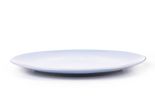 blue plate - 側視 個照片及圖片檔