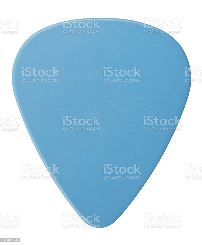 Blue Plectrum stock photo