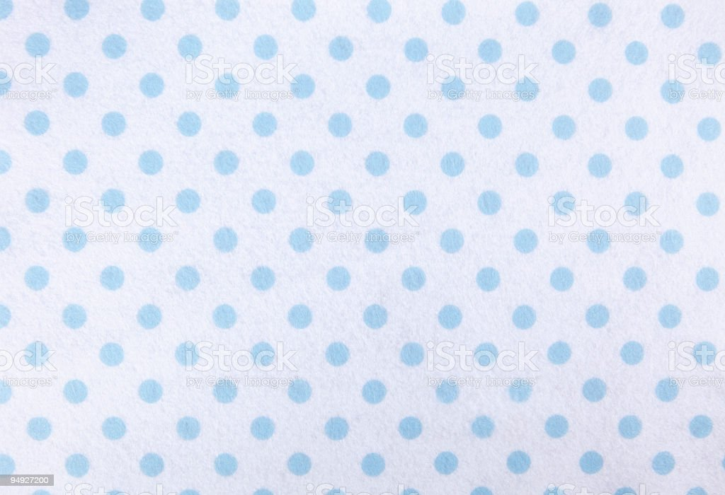 blue polka dots stock photo