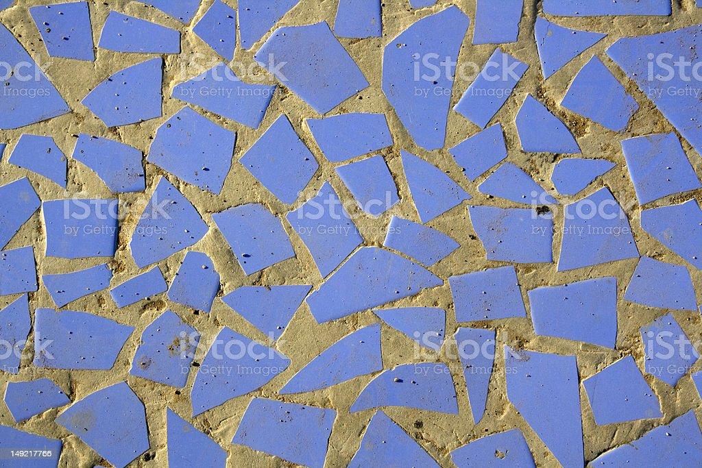 Blue polygon background royalty-free stock photo