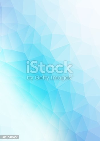 Abstract polygon shaped background