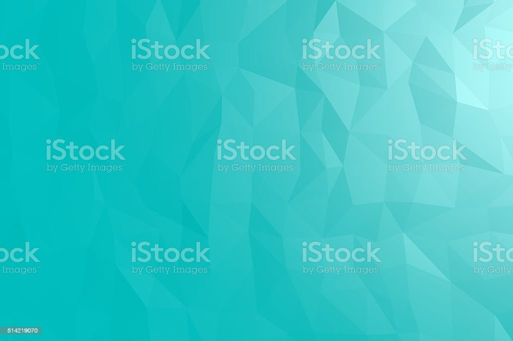 Blue Polygonal stock photo