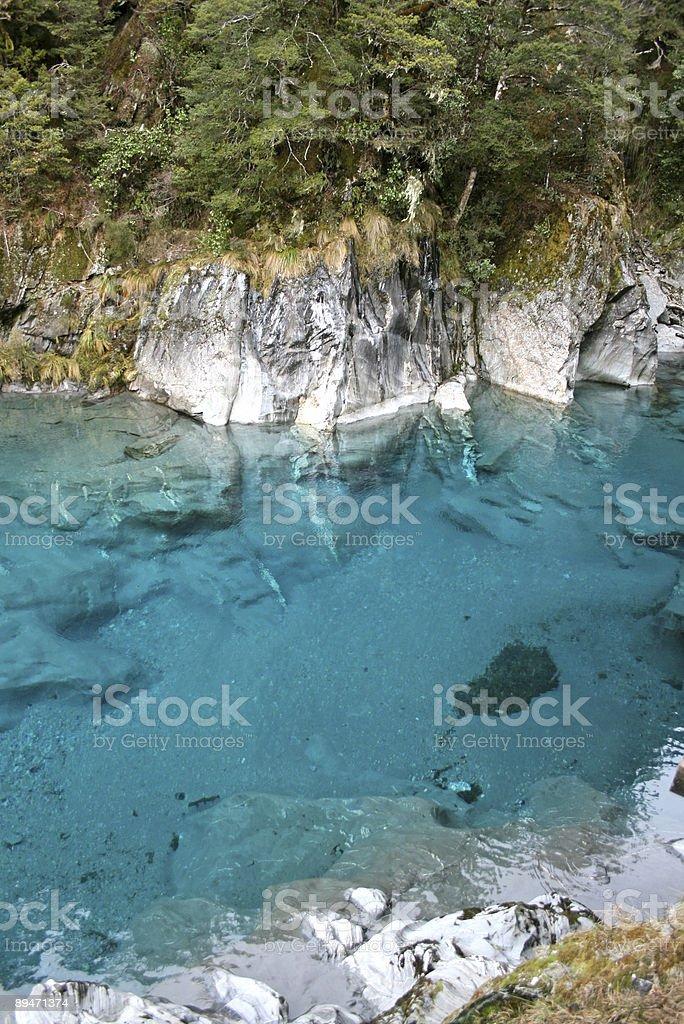 Blaue Pools Lizenzfreies stock-foto