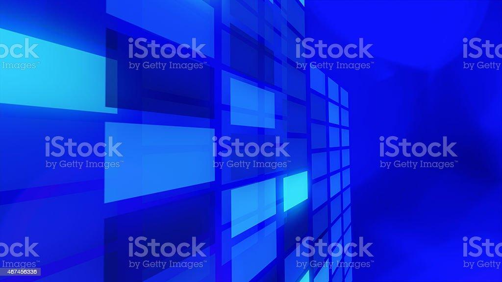 Blue Presentation Title Page Background Stock Photo