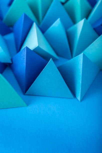 Blaue Pyramiden – Foto