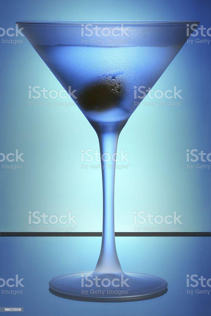 Blue Raspberry Martini royalty-free stock photo