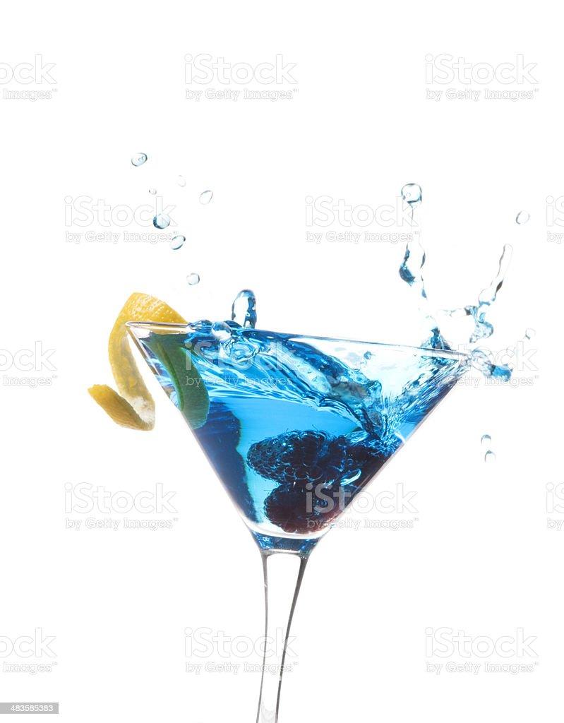 Himbeer Splash-Blau – Foto