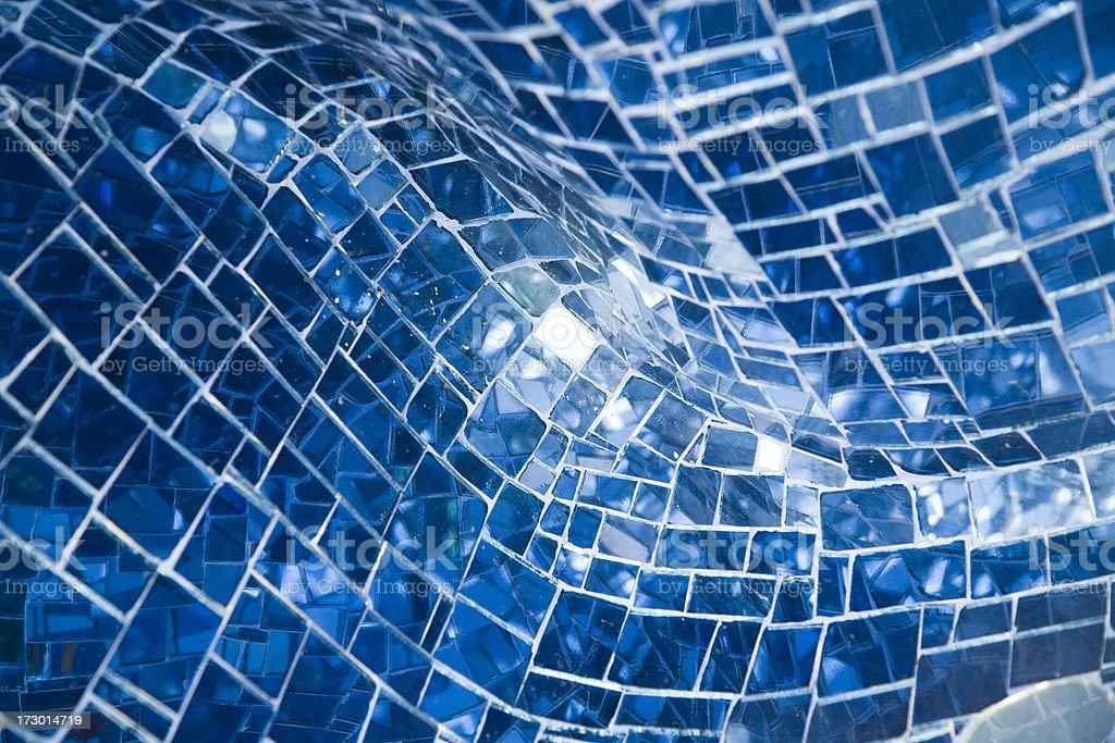 blue reflection royalty-free stock photo