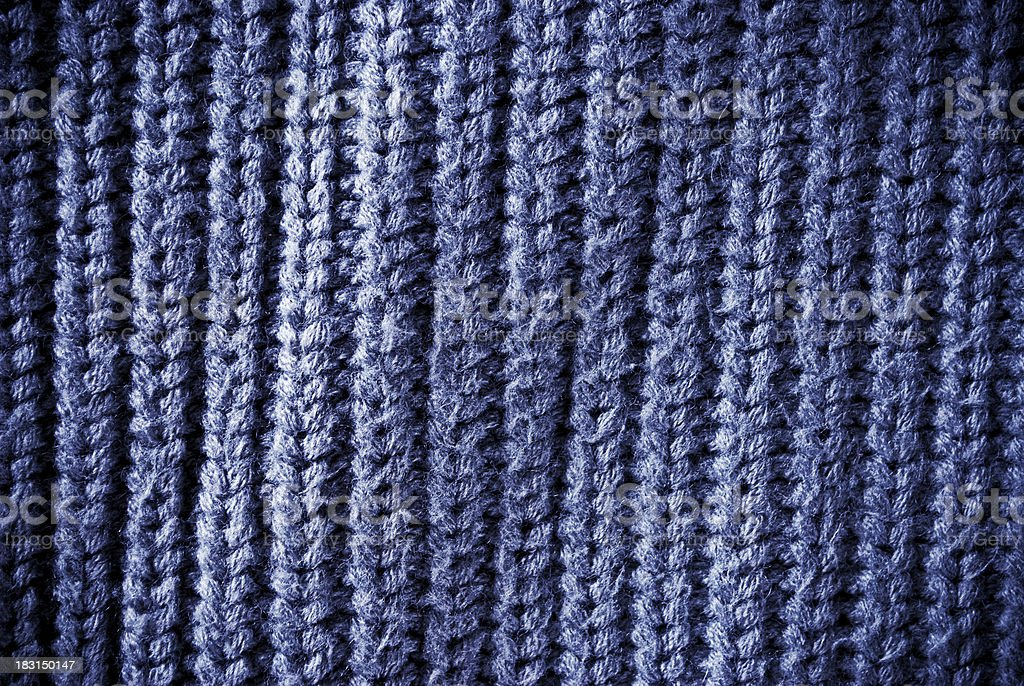 Blue regular striped and woven material background or texture royalty-free stock photo