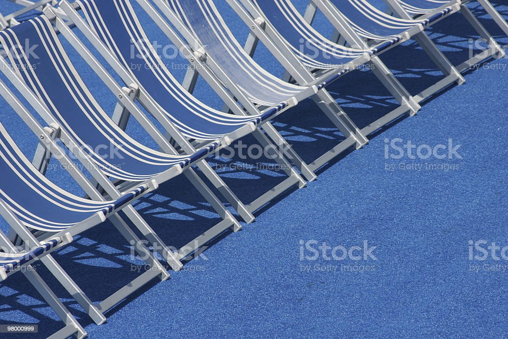 Blue Relax royalty-free stock photo
