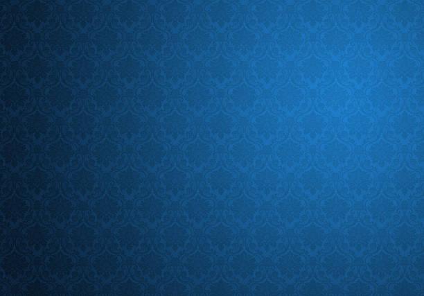 Blue Retro Background stock photo