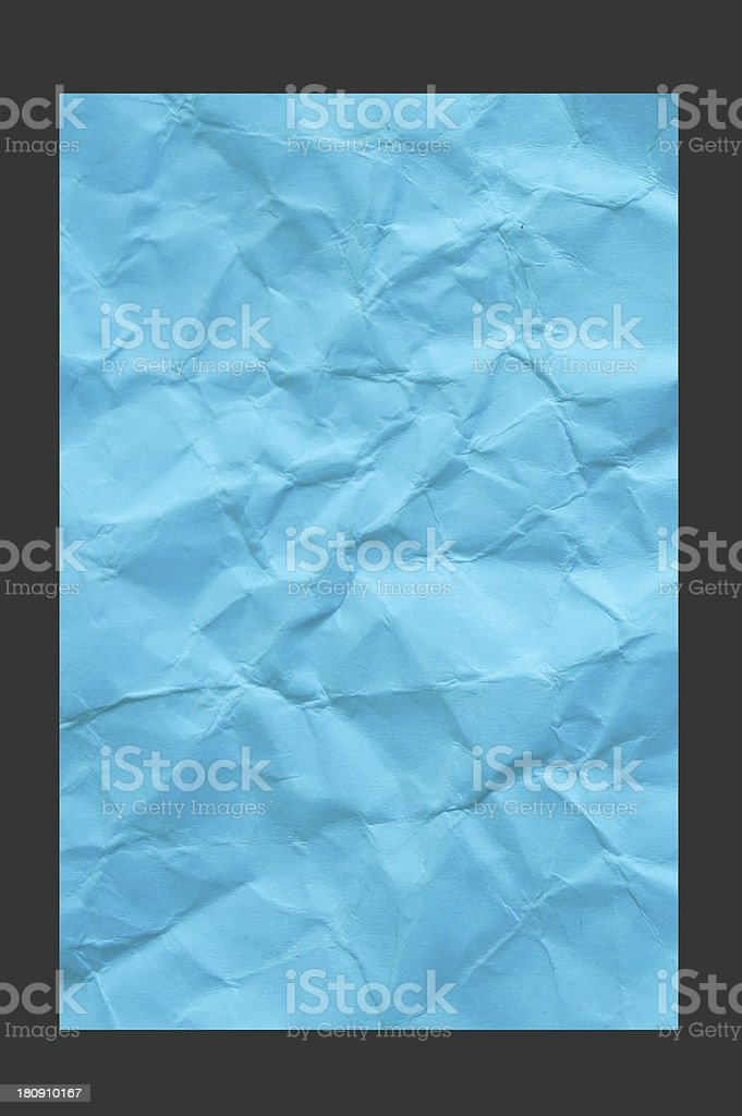 blue reuse  paper royalty-free stock photo