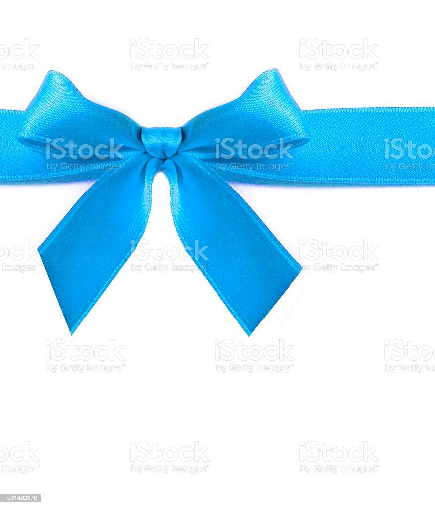 Blue ribbon - foto de acervo