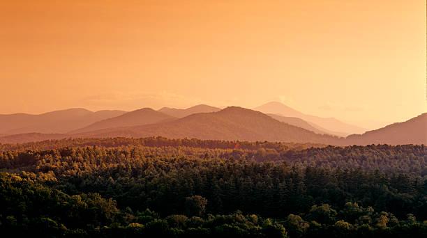 Montañas Blue Ridge - foto de stock