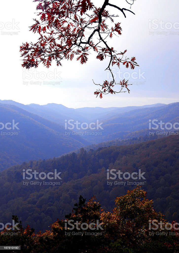 Blue Ridge Mountains, Virginia royalty-free stock photo