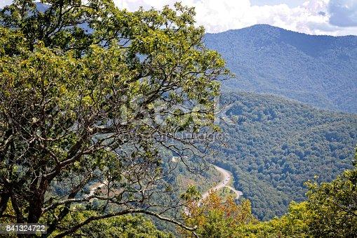 istock Blue Ridge Parkway Scenic Lookout 841324722